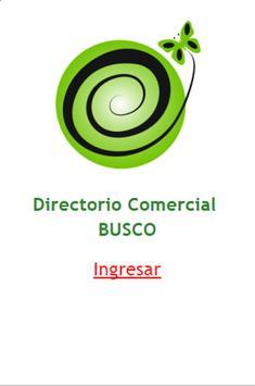 Directorio Comercial Busco poster
