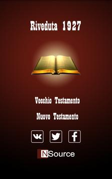 Italiano Riveduta Bibbia poster