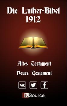 Die Luther Bibel poster