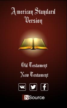 American Standard Bible poster