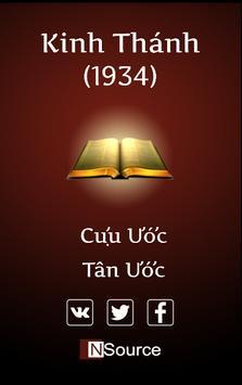Vietnamese Holy Bible poster