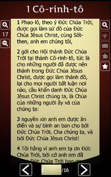 Vietnamese Holy Bible apk screenshot
