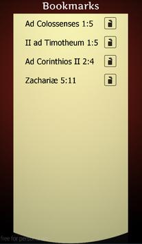 Holy Bible in Latin apk screenshot