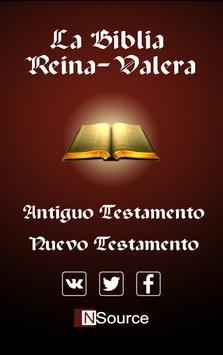La Biblia Reina-Valera Antigua poster