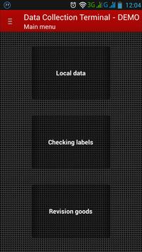 Data Collection Terminal poster