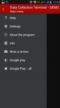 Data Collection Terminal apk screenshot