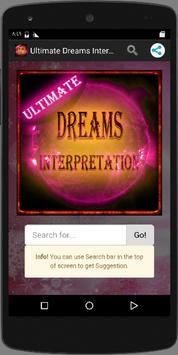 Ultimate Dreams Interpretation apk screenshot