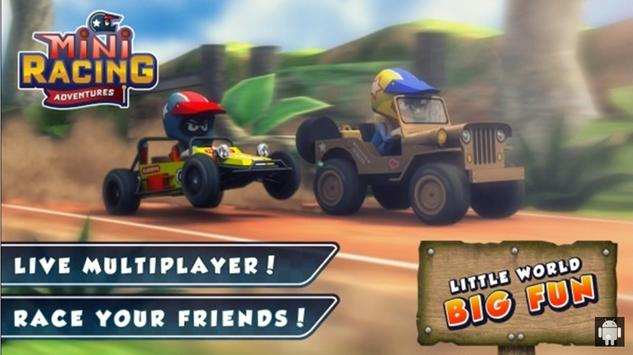 Tips for Mini Racing Adventure poster