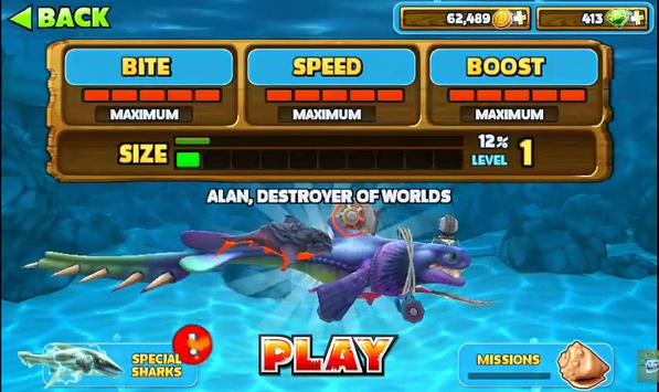 Tips Hungry Shark Evolutions apk screenshot