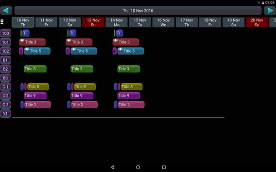 Booking Manager 2 Lt. apk screenshot