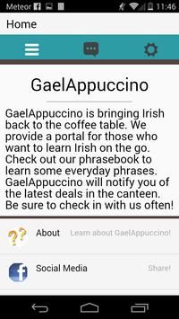 GaelAppuccino apk screenshot