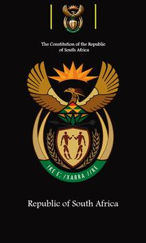 Constitution of South Africa poster