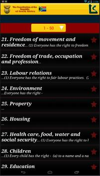 Constitution of South Africa apk screenshot