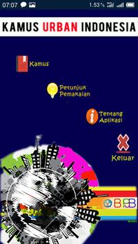 Kamus Urban Indonesia poster