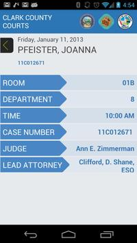 Court Finder apk screenshot