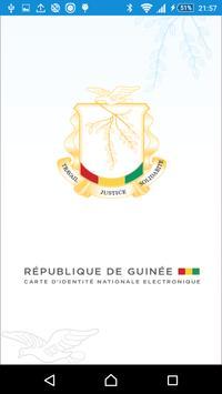 CNIE Guinée poster