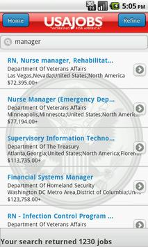 USAJOBS (beta) apk screenshot
