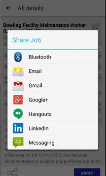 Gov Jobs apk screenshot