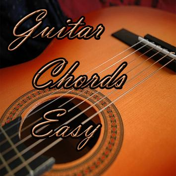 Guitar Chords Easy poster