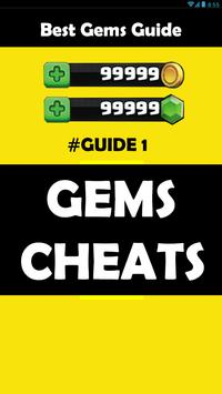 Gems For Clash Royale Cheats poster