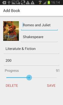 Reading List apk screenshot