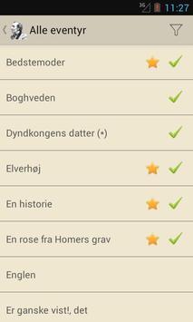 Andersens eventyr apk screenshot
