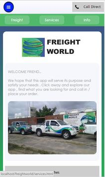 freightworld poster