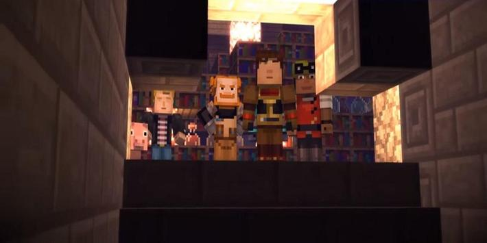 guide Minecraft Story Mode poster