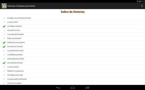 Historias Cristianas (Niños) apk screenshot