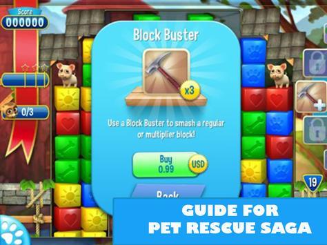 Guide For Pet Rescue Saga apk screenshot