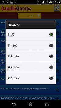 Gandhi Quotes apk screenshot