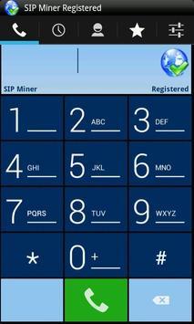 SIP Miner apk screenshot