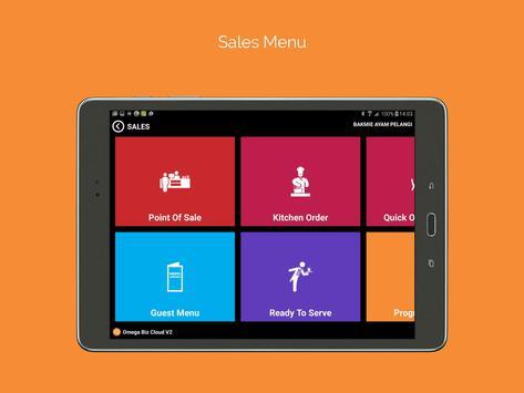 Omega POS - Aplikasi Kasir apk screenshot