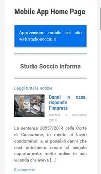 Studio Soccio poster