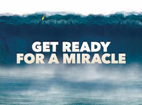 GET READY FOR A MIRACLE poster