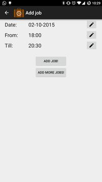 Simple Job Scheduler apk screenshot