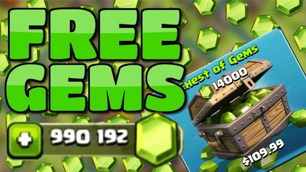 Gems box Clans - Clash of Clan poster