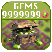 Gems for Clash of Royals 2017 icon