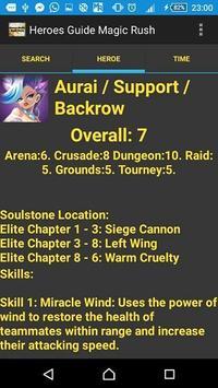 Heroes Guide Magic Rush apk screenshot