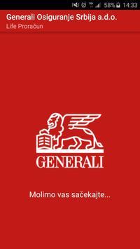 Generali Srbija Life Proračun poster