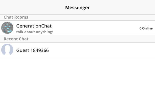GenerationChat apk screenshot