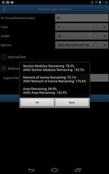 Wood Strength Calculator apk screenshot
