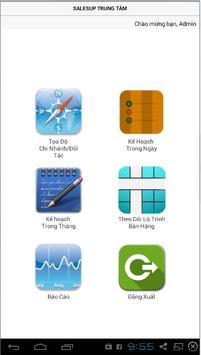 SalesUp App Quản lý poster