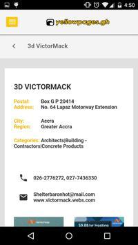 Yellow Pages Ghana apk screenshot