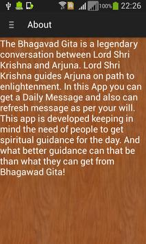 Bhagavad Gita: Daily Message apk screenshot