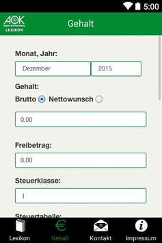 AOK-Lexikon apk screenshot