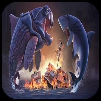 Giant Hungry Shark Evo Guide apk screenshot