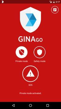 GINA GO poster