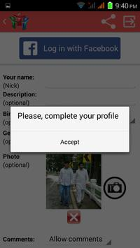 Girl Chat Room apk screenshot