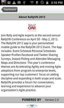 RallyON 2012 apk screenshot